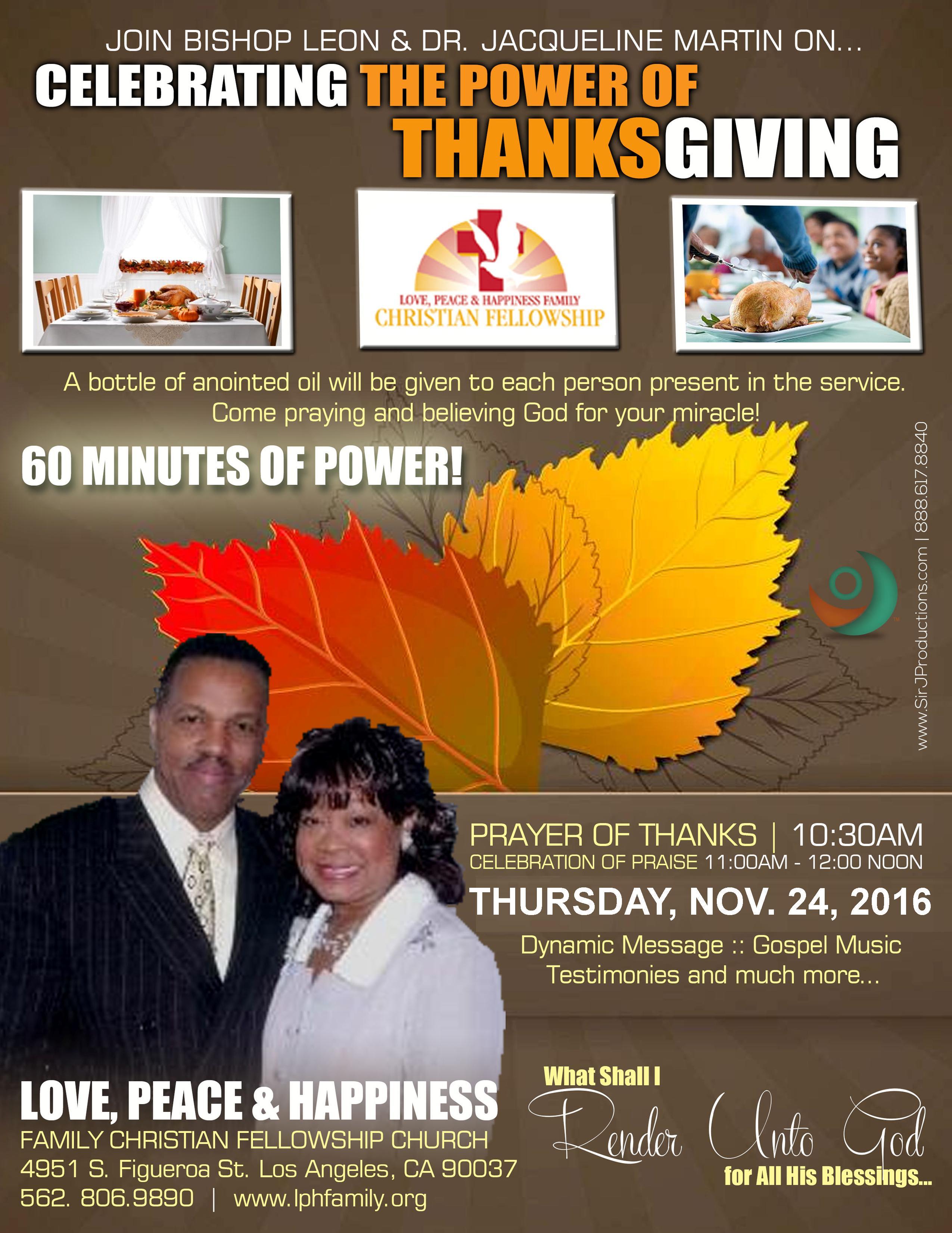 Thanksgiving Flyer 2016